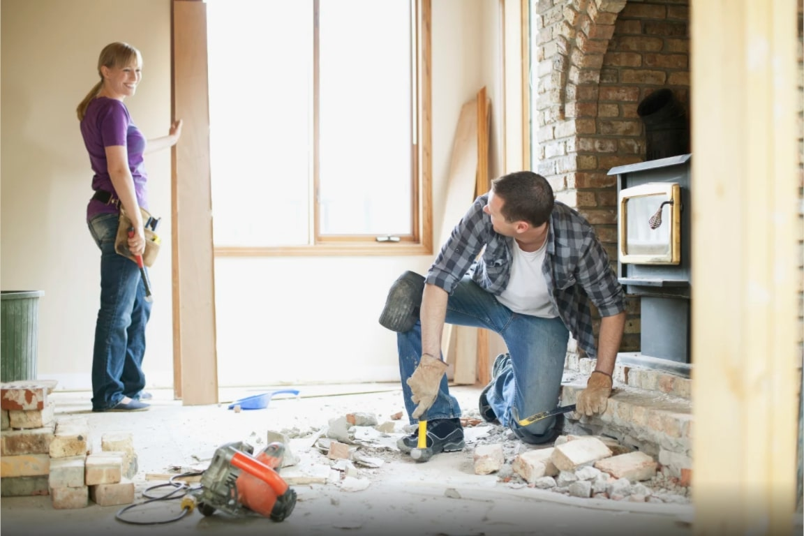 reformar sua casa