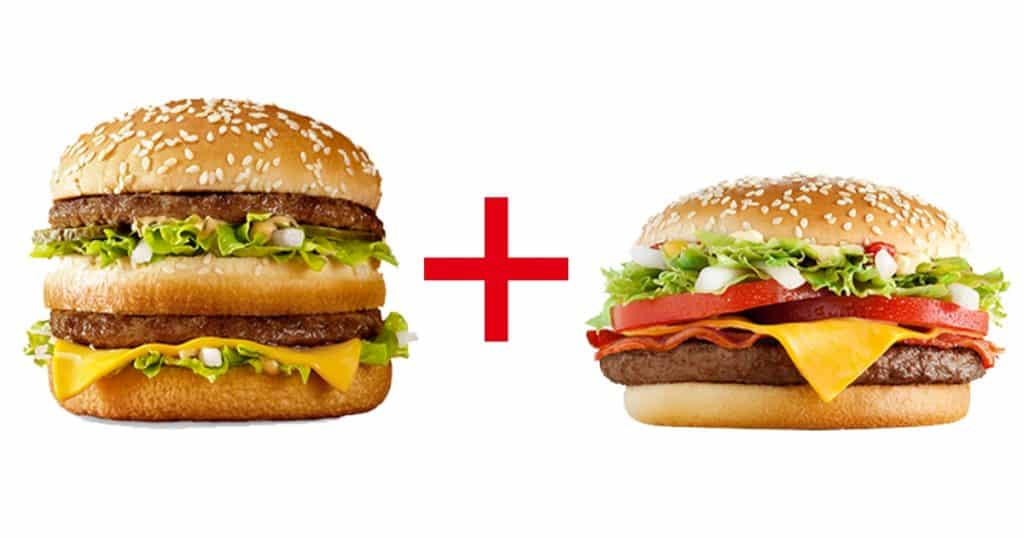 Big Mac + McNífico McDonald's