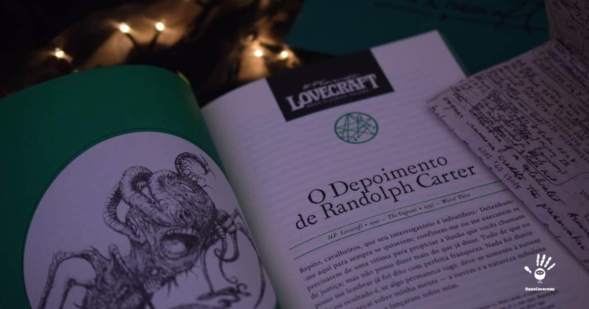 Contos de Terror e Mistério: - O depoimento de Randolph Carter - H.P Lovecraft