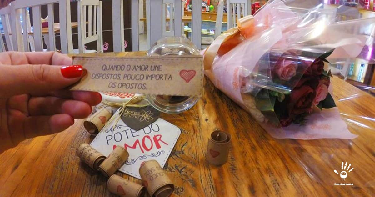 Presente para Namorado: Pote do Amor