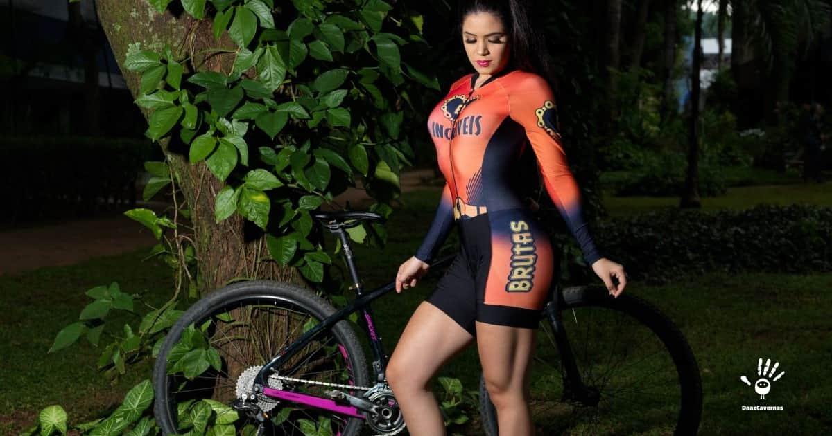 Macaquinho de Ciclismo Feminino