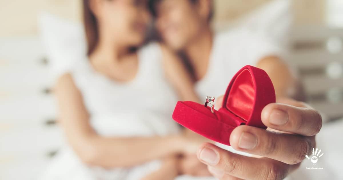 Presente pra namorada: Pedido de casamento