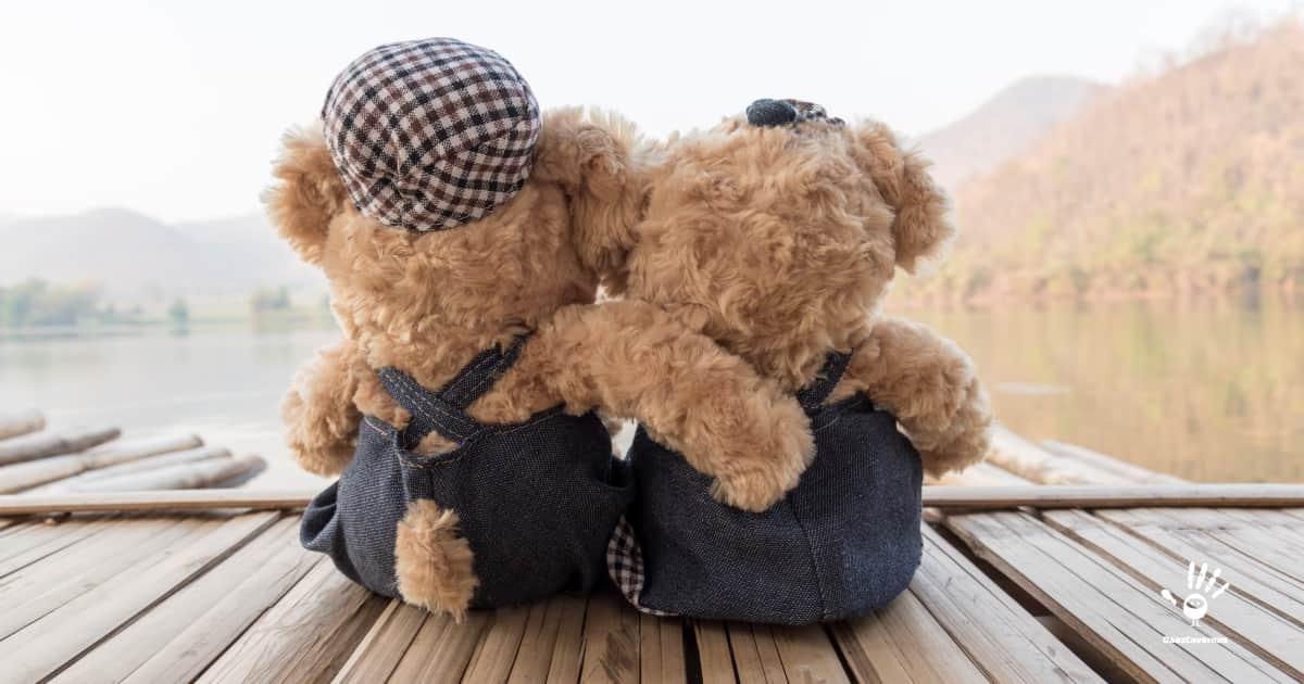 Presente pra namorada: Urso de pelúcia
